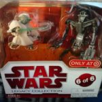 StarWars figurine : Star Wars Legacy collection Hasbro pack geonosis Arena showdown Yoda neuf RARE