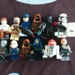 Figurine StarWars :  LEGO STAR WARS lot de 12 figurines 100% LEGONEUF