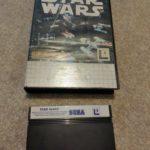 STAR WARS Sega Master System box and cart no - Avis StarWars