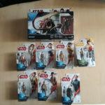 Figurine StarWars : lot de 8 figurines star wars force link neuve sous blister
