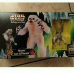 StarWars figurine : Star wars Figurine Wampa Kenner Et Luke Skywalker