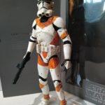 "StarWars figurine :  custom Star wars 212th Utapau Clone trooper phase II Medicom RAH  1/6 30 cm 12"""