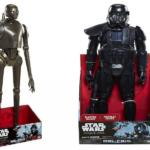 StarWars collection : STAR WARS Rogue One-K-2S0 -Figurine 51 cm + Star Wars Death Trooper 48 cm .