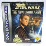 GameBoy Advance Spiel -  Star Wars - The New  - jeu StarWars