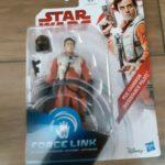 Figurine StarWars : Star Wars Force Link 9cm Figure - Poe Dameron (Resistance Pilot) NEUF
