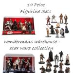 StarWars figurine : Star Wars Deluxe 10 Piece Figurine Playset - Rogue One/The Force Awakens - New