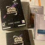 Rare Vintage Big Box Star Wars Galaxies - Occasion StarWars