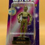 StarWars collection : 1997 Star Wars C-3PO Rose Art Figurine Stamper