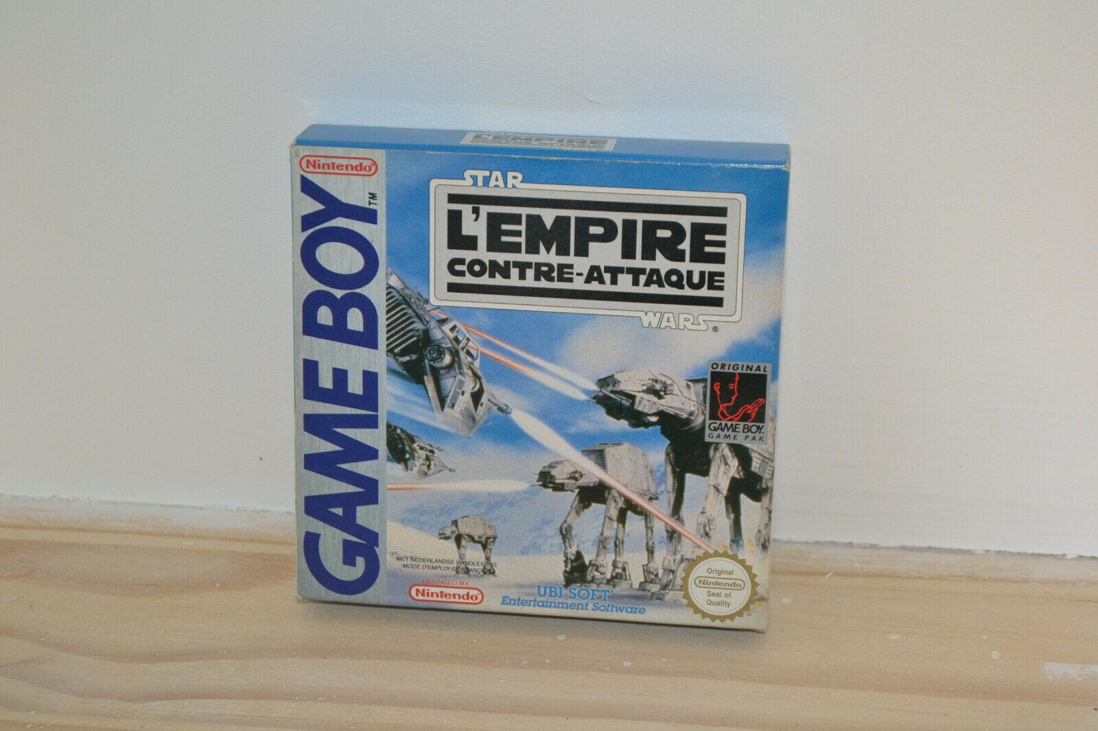 Gameboy Game Boy - Star Wars L'Empire Contre - Avis StarWars