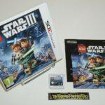 ++ jeux nintendo 3DS LEGO STAR WARS III 3 the - jeu StarWars