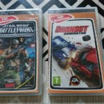 Lot 2 Jeux Playstation Psp Star wars - pas cher StarWars
