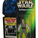 StarWars collection : Star Wars Pouvoir de la Force Mr Freeze Cadre Lobot Carte Kenner Figurine