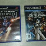 Lot Starwars PS2 Bounty hunter + Battlefront - jeu StarWars