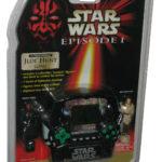 Figurine StarWars : Star Wars Épisode I Tiger Électronique Jedi Chasse à Main Jeu avec / 2 Figurines