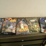 StarWars collection : Lot of 5 Star Wars Figurines New in the box
