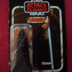 StarWars collection : STAR WARS VINTAGE COLLECTION BARRISS OFFEE JEDI PADAWAN AOTC VC51 UNPUNCHED CARD