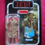 StarWars figurine : STAR WARS VINTAGE COLLECTION - HAN SOLO (IN TRENCH COAT ENDOR) ROTJ VC62