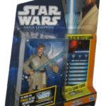 Figurine StarWars : Star Wars Clone Wars Animé Obi-Wan Kenobi (2010) Bleu Carte Figurine SL12
