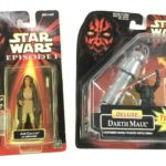 Figurine StarWars : Hasbro Star Wars Episode 1 Darth Maul & Adi Gallia w/Lightsaber Action Figurines