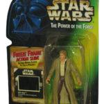 StarWars collection : Star Wars Pouvoir de la Force Han Solo en Endor Gear Mr Freeze Cadre Figure