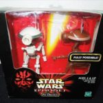 Figurine StarWars : Tomy Star Wars Épisode 1 Fosse Droides (2 Structures) 30.5cm de Jap