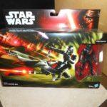 StarWars figurine : STAR WARS ELITE SPEEDER BIKE + figurine stormtrooper - neuf