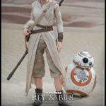 StarWars collection : Star Wars 7 VII Hot Toys Rey & BB-8 Figurine 28 cm Échelle 1/6 BB8 Robot Droid