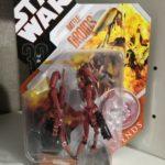 StarWars collection : STAR WARS 2007 30th Anniversaire Saga Legends Battle Droids version rouge