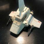 StarWars figurine : ISP-6 MINI RIG original STAR WARS Vintage Complete Working Imperial Shuttle