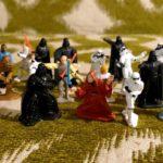StarWars collection : 20 Rare Vintage Star Wars Die Cast Metal Miniature Figurines ROTJ ESB