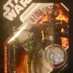 StarWars collection : Star Wars 4-Lom - 30ème Anniversaire Collection Action Figurine W/Silver Coin -