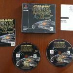 PS1 PlayStation 1 Pal Game with Box Manual - Occasion StarWars