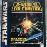 STAR WARS X-WING VS TIE FIGHTER LUCASARTS, - Occasion StarWars