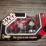 StarWars collection : STAR WARS HOT TOYS CHUBBY SITH NESTING DOLLS SERIES 1 2007 NEW IN BOX MAUL DOOKU