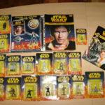 StarWars figurine : Lot 17 figurines plomb star wars scellées + fascicules + classeur Atlas