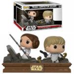StarWars collection : EXCLU Figurine Pop Funko  STAR WARS movie moments - Luke & Leia Trash Compactor