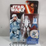 """Figurine StarWars :  Star Wars The Force Awakens STORM TROOPER with WEAPONS 3.75"""" """"Carded"""" NEW!"""