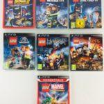 LEGO PS3 Games Bundle Batman Marvel Jurassic - Occasion StarWars