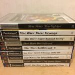 Star Wars Bundle of 9 PS2 PAL UK Games Sony - Occasion StarWars