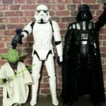 StarWars figurine : 3 Figurines géantes STAR WARS Jakks Pacific 80 CM DARK VADOR STORMTROOPER YODA