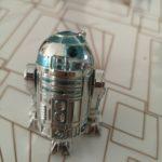 StarWars collection :  Star wars figurine R2 D2 Silver