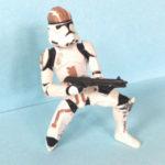 StarWars figurine : STAR WARS CLONE TROOPER WAL-MART EXCLUSIVE 2005 ROTS