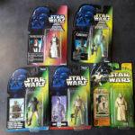 StarWars figurine : LOT 5 BLISTERS NEUFS FIGURINES STAR WARS 1995 - 2000