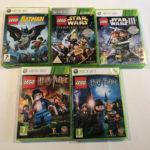 X 5 Xbox 360 Lego Game Bundle Star Wars Harry - pas cher StarWars