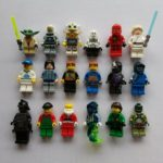 StarWars figurine : Lot 1 Lego de 18 personnages figurines Star Wars, City, Ninjago, Chima