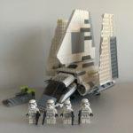StarWars figurine : Lego Star Wars 7264- Imperial Shuttle + 4 Stormtrooper Figurine