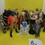 StarWars collection : Stars Wars 20 figurines divers / Lot B