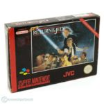 Nintendo SNES - Super Star Wars - Return of - jeu StarWars