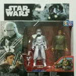 StarWars collection : STAR WARS FIGURINES SNOWTROOPER OFFICER & POE DAMERON SERIE ROGUE ONE NEUF