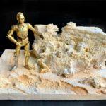 StarWars figurine : Diorama Star Wars pour figurines Black Series 6 Inch Et 3,75 (Piece Unique !)